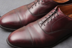 Minimalist men's style: Alden Oxfords