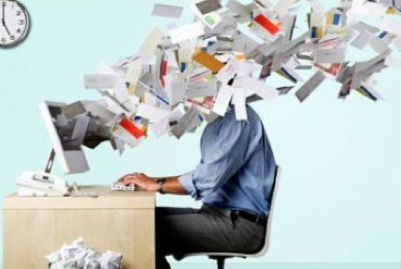 Digital clutter causes information overload and constant distraction