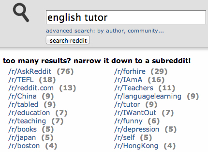 Testing Internet Business Ideas: Reddit subreddit subscription counts