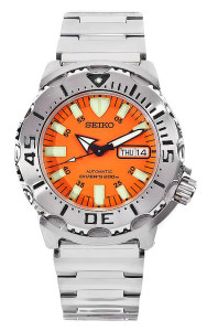 The Best Men's Watches under 500 dollars: Seiko Orange Monster