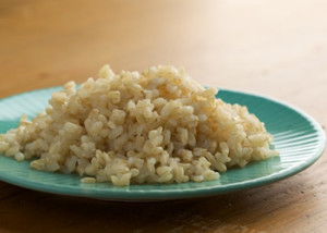 Minimalist cooking: easy brown rice
