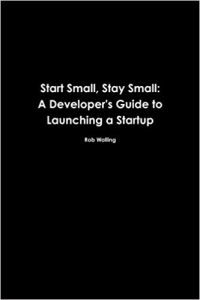 Start Small Stay Small (book cover)